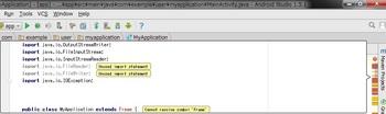 AndroidStudio1_5_1_Unused_import_statement.jpg